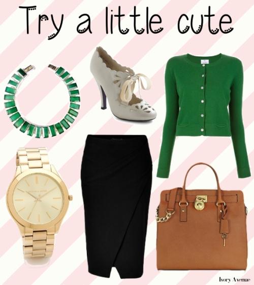Try a little cute